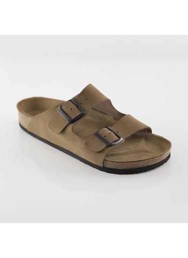 Ballerins Sandalet Camel
